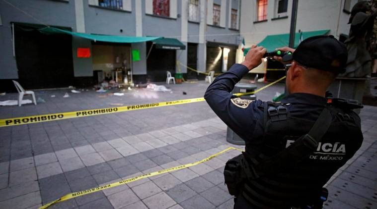 mariachi plaza shooting, Mexico city shooting, Shooters dressed as mariachi musicians, mariachi plaza shooting death toll, President Andres Manuel Lopez Obrador, Mexico violence, Mexico homicide, Mexico, World News, Indian Express