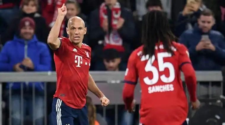 Arjen Robben Picks Anfield As His Worst Stadium Ahead Of