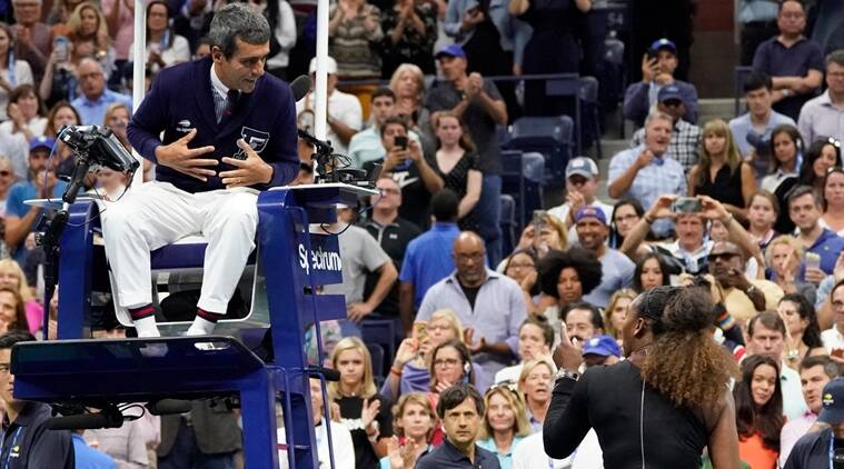 US Open 2018 What Happened In The Serena Williams Chair