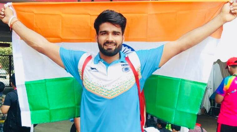 Javelin thrower Sandeep Chaudhary wins India's first gold at Asian ParaGames
