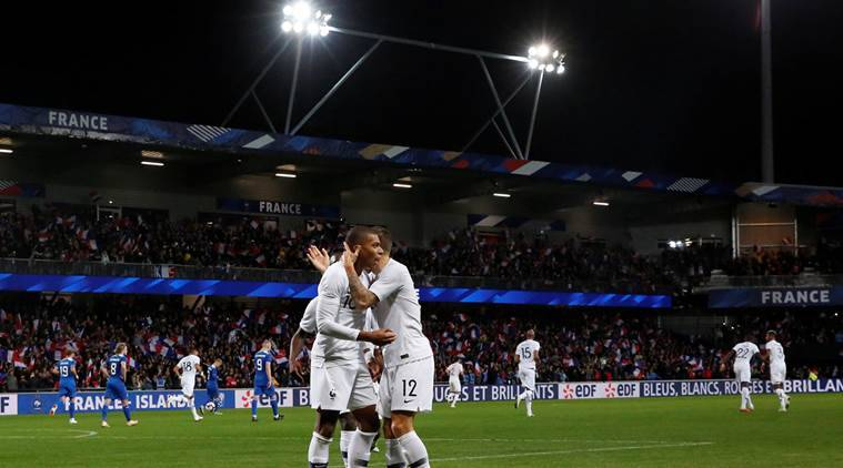 Kylian Mbappe sparks two-goal rally as France hits back againstIceland