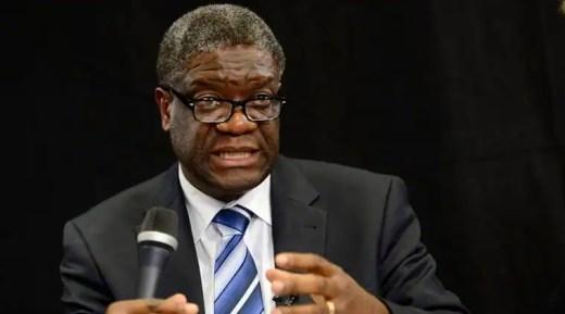 Who is Nobel peace prize winner Denis Mukwege?