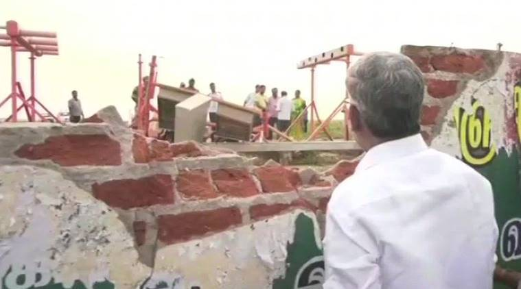 Air India Express aircraft hits wall at Trichy Airport during take-off, all 130 passengers safe
