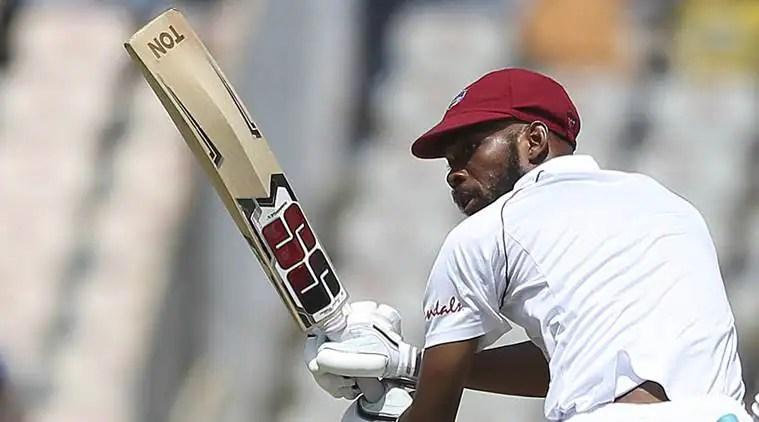 India vs West Indies 2nd Test Day 1: Roston Chase's gutsy knock arrests visitors'slide