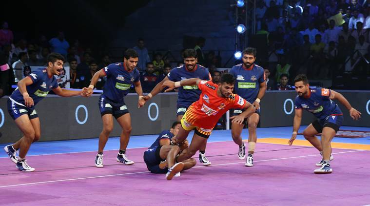 Pro Kabaddi 2018: Haryana Steelers beat Gujarat Fortunegiants, Dabang Delhi overcome Patna Pirates