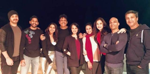 Samantha Akkineni, Naga Chaitanya family vacation
