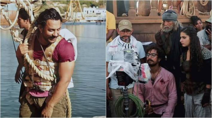 Thugs of Hindostan making video 2: Heres how artificial rain and storm were created on theships