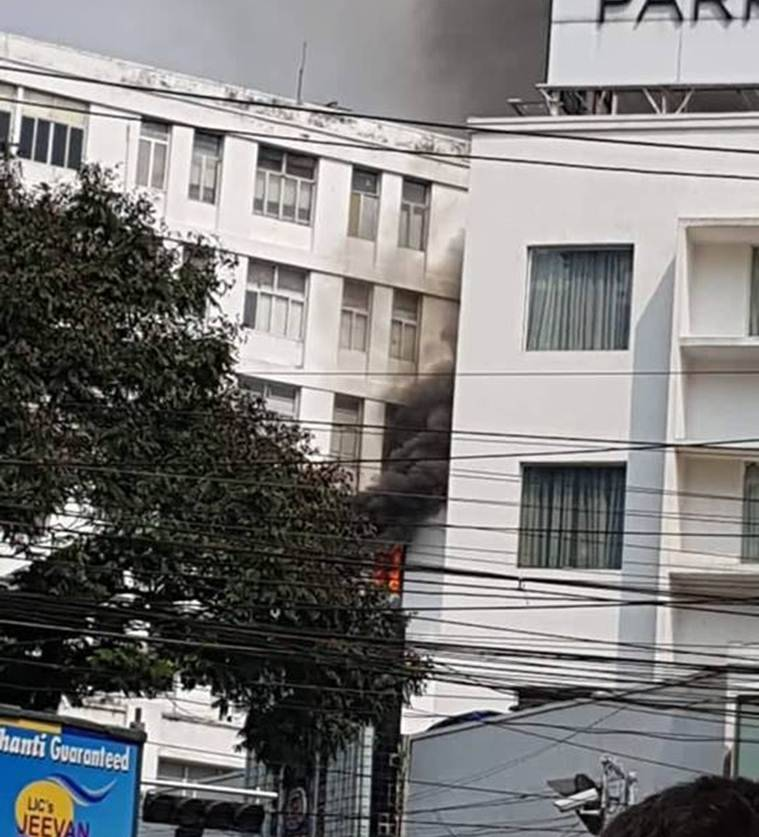 Kolkata: Fire breaks out at Apeejay House, 12 fire engines rushed to spot