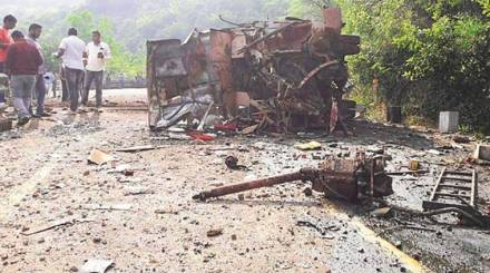 Chhattisgarh: Days before vote, Maoists target poll-duty bus, at least five killed