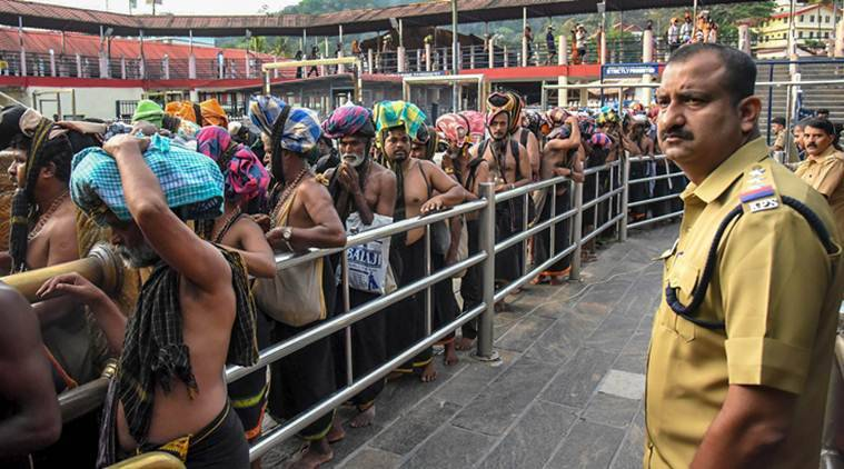 SC declines to stay Sabarimala verdict, temple opens Saturday, review in Jan