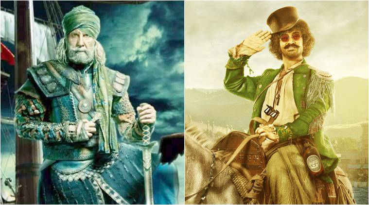 Thugs of Hindostan posters