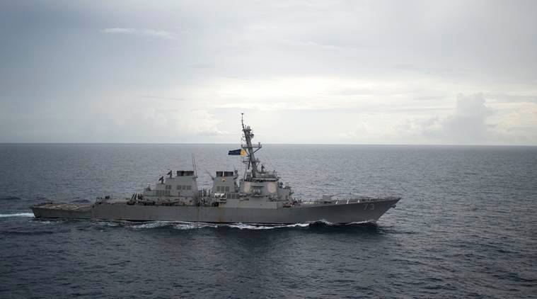 the Decatur, an American destroyer