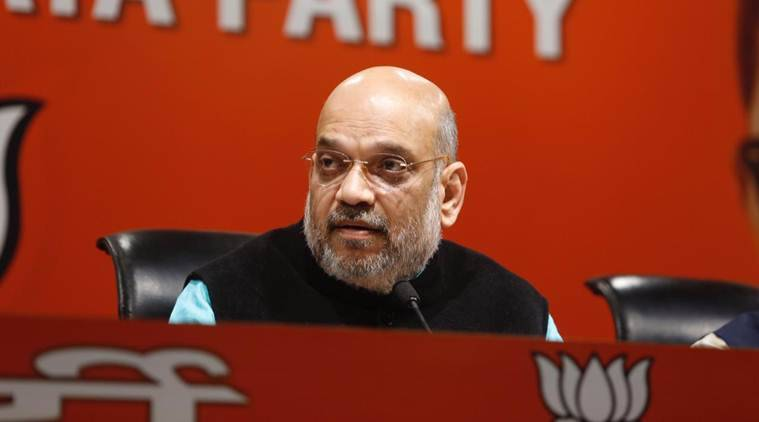Bjp Chief Amit Shah Admitted To Aiims For Swine Flu Treatment