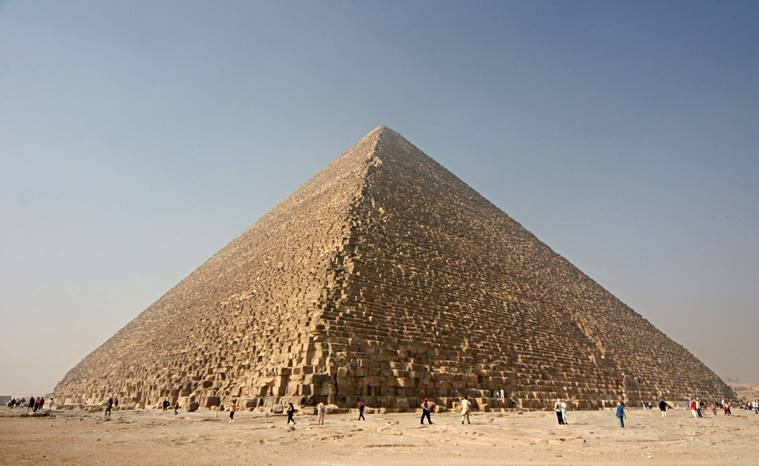 Egypt probes Danish couple after video shows them posing nude on pyramid