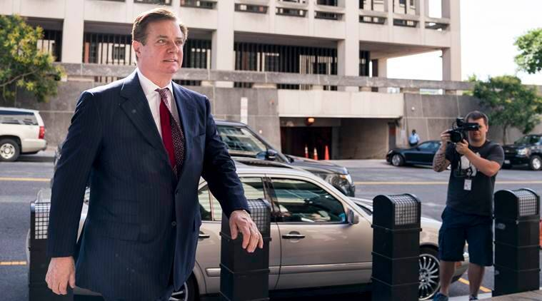 Manafort lied about contacts with Trump officials, says Mueller