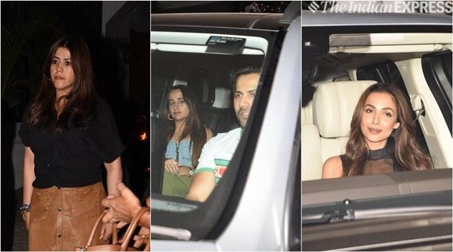 Malaika Arora, Varun Dhawan, Ekta Kapoor And Others Enjoy A Weekend Bash