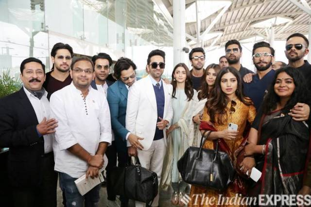 bollywood stars meet pm narendra modi in delhi