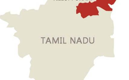 Tamil Nadu District Map | Hot Trending Now