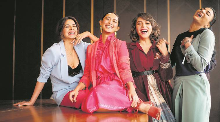 Four More Shots Please is breaking a lot of myths and stereotypes: Kirti Kulhari | Entertainment News.The Indian Express
