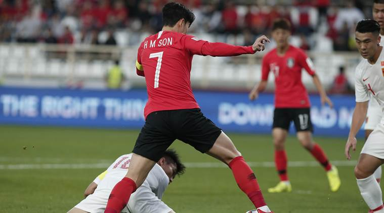 Afc Asian Cup 2019: Son Heung-min Helps South Korea Beat China 2-0
