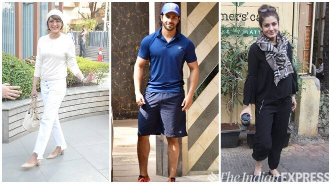 Celeb Spotting: Sonali Bendre, Varun Dhawan, Raveena Tandon And Others