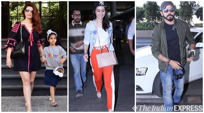 Celeb Spotting: Twinkle Khanna, Shraddha Kapoor, S Sreesanth And Others