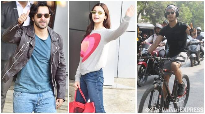 Celeb Spotting: Varun Dhawan, Alia Bhatt, Ishaan Khatter And Others