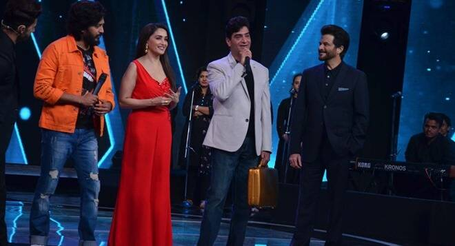 Madhuri Dixit, Anil Kapoor Spread Total Dhamaal Madness On Sa Re Ga Ma Pa L'il Champs