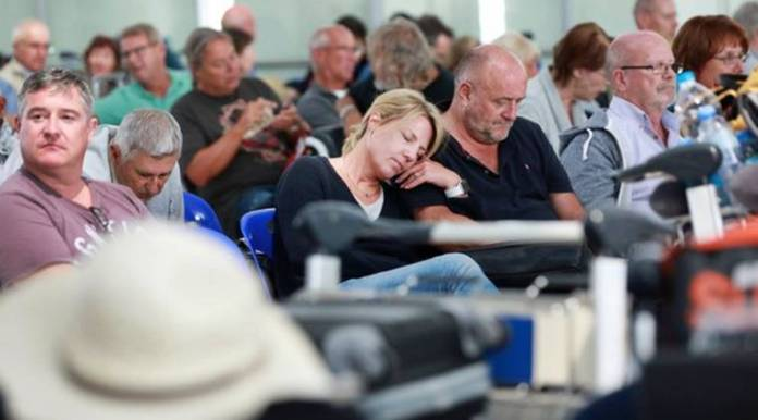The closure of the airspace left thousands of air travellers stranded worldwide and more than 700 international and domestic flights were cancelled during the last three days to and from the country including flights to New Delhi.