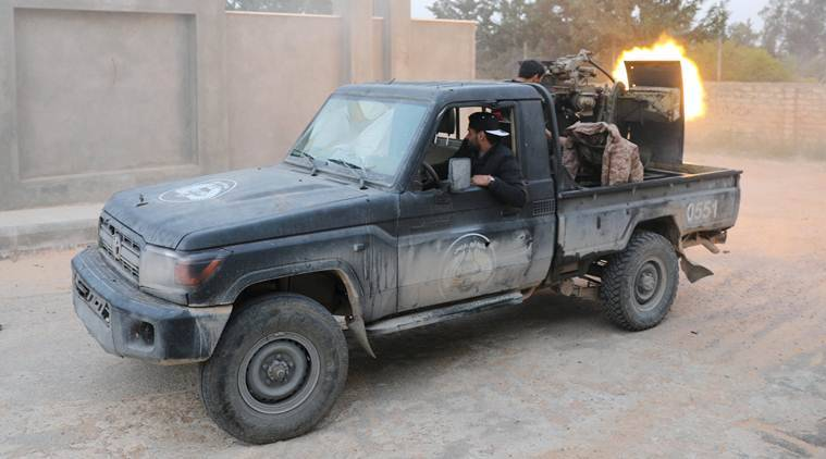 Explosions In Libya Capital After Late Night Air Strike