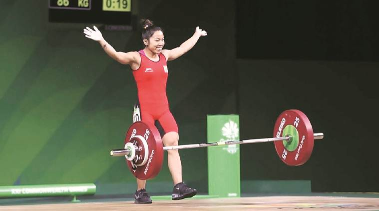 Asian Weightlifting Championship Mirabai Chanu S Double