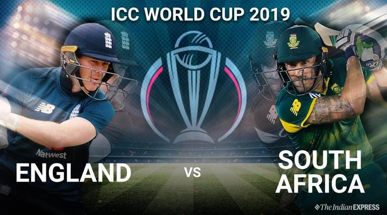 England Vs South Africa World Cup 2019 Highlights