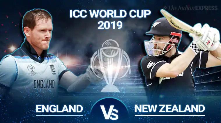World Cup 2019 England Vs New Zealand Highlights England