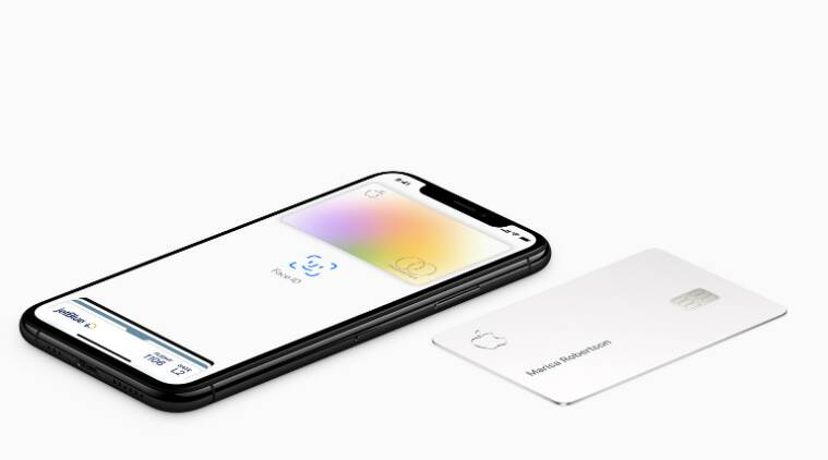 apple card, apple credit card, titanium apple card, apple card not touch other credit card, apple card carrying, apple card cleaning, apple card no leather wallet, what is an apple card