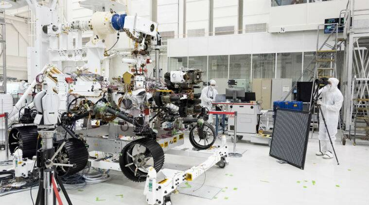 Nasa S Mars 2020 Rover Undergoes Eye Exam As It Gets