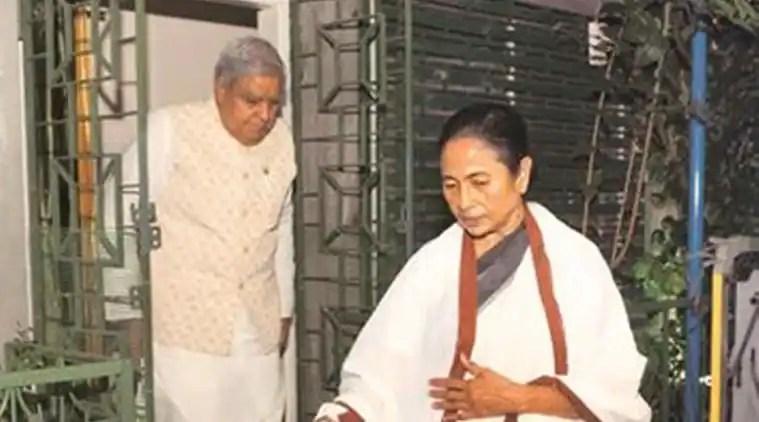 Mamata Banerjee, Jagdeep Dhankar, Jagdeep Dhankar Twitter, Citizenship Amendment Act, Citizenship Amendment Act protests in bengal, indian express
