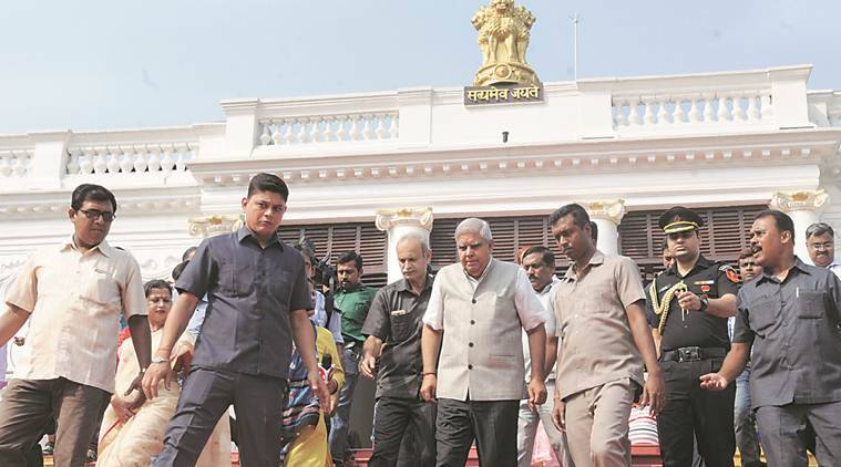 I was blacked out at govt's Puja Carnival, pained by insult: Governor kicks up row