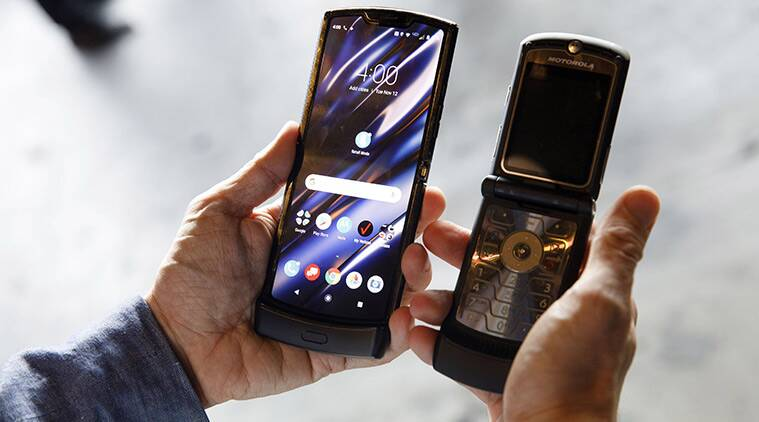 Motorola Razr Is Back With A Foldable Display And
