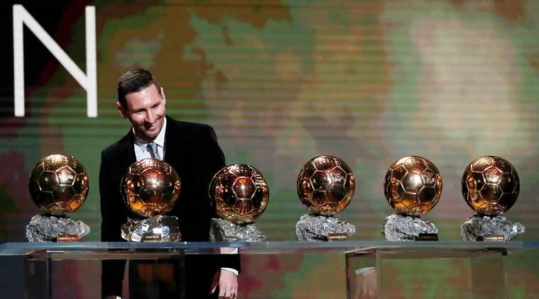 Lionel Messi Megan Rapinoe Win Ballon D Or Awards