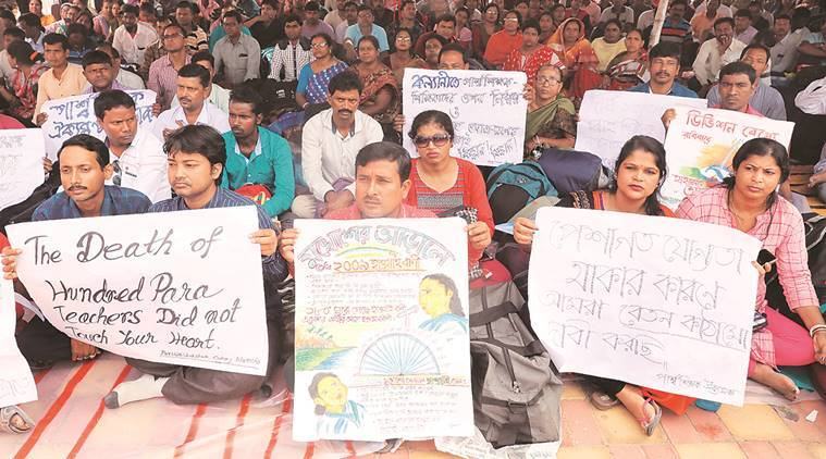 Pay hike demand: Showcause notices to para teachers, Oppn threatens to disrupt Bengal Assembly