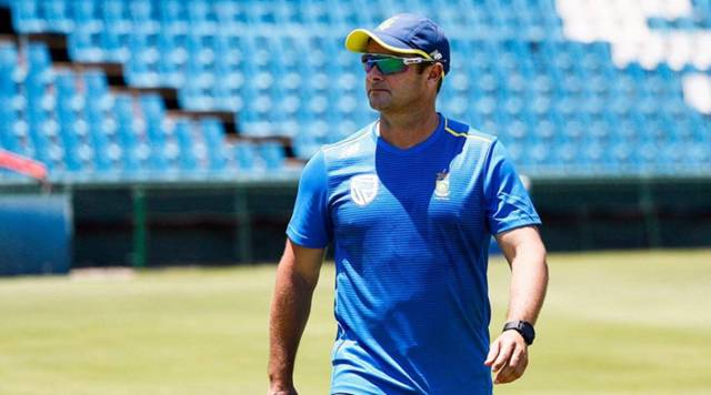 Mark Boucher, no handshake during India vs South Africa ODI series, INDvSA ODIs, South Africa in India, coronavirus in India