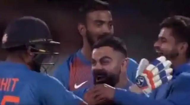 Rohit Sharma, Virat Kohli, Rohit Sharma super over, India vs New Zealand super over, India vs New Zealand 3rd T20I, IND vs NZ 3rd T20I, India tour of New Zealand 2020