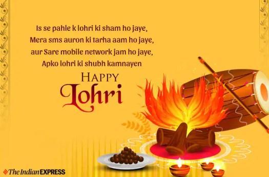 Happy Lohri Images 2020: Wishes Images, Status, Quotes ...