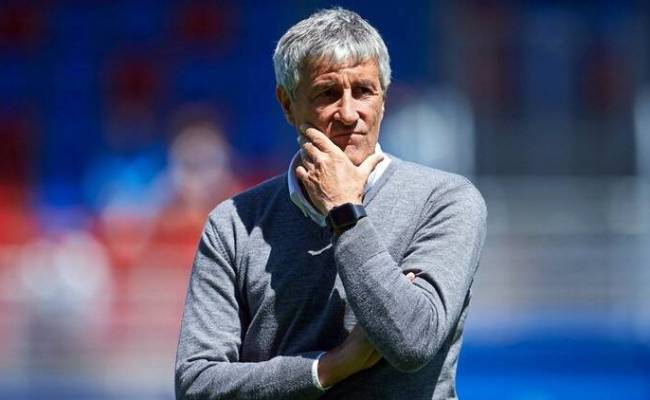Quique Setien Must Bring Style As Well As Silverware In