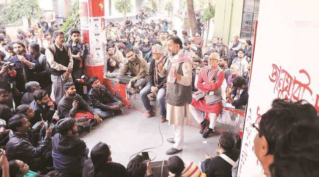 Yogendra Yadav, Yogendra Yadav Jadavpur University, Yogendra Yadav on CAA, Citizenship Amendment Act, CAA protests, CAB protests, Indian express