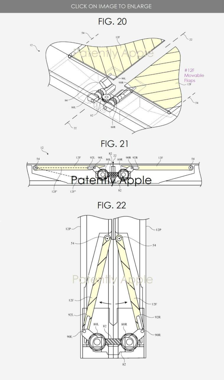 Apple, Apple foldable iPhone, foldable iPad. Apple foldable device. Apple patent foldable device, galaxy fold, motorola razr