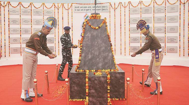 CRPF pays tribute to 40 personnel killed in attack