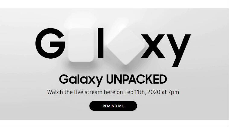 Samsung galaxy S20, Samsung galaxy S20 launch, Samsung Unpacked, how to watch Samsung Unpacked live, Samsung Unpacked livestream, Galaxy S20 Plus launch, Galaxy S20 launch India timings, Samsung Galaxy S20 launch date in india, Galaxy S20 series launch event, Galaxy Z Flip, Galaxy Z Flip launch, Galaxy Z Flip launch price, samsung unpacked 2020, samsung unpacked event