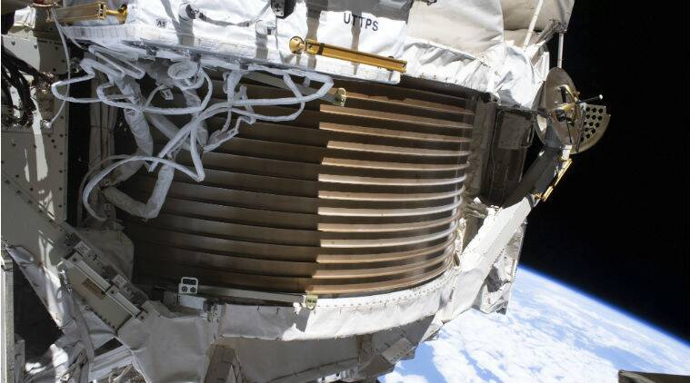 NASA, ISS, ISS cosmic detector, Alpha Magnetic Spectrometer, ISS cosmic detector working, NASA news