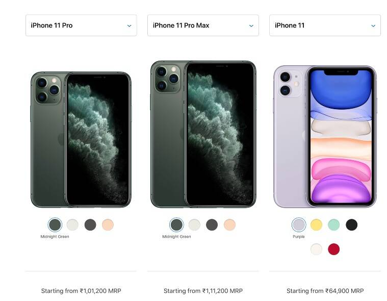 Apple increases some iPhone prices, iPhone XR, iPhone 7 and iPhone 11 unchanged